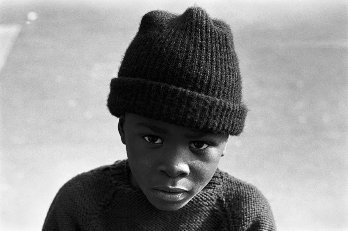 Schoolboy, West Philadelphia, PA, Fall 1970 (large view)