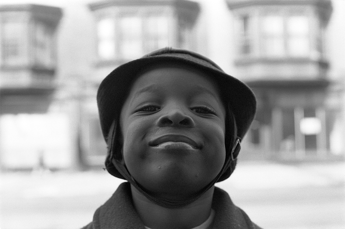 Young Boy, West Philadelphia, PA, Spring 1971 (large view)