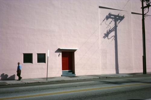 Pink Building, Miami, 1976 by Stephen Perloff