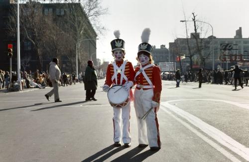 Drummer Boys, Mummers Parade, Philadelphia, 1977 by Stephen Perloff