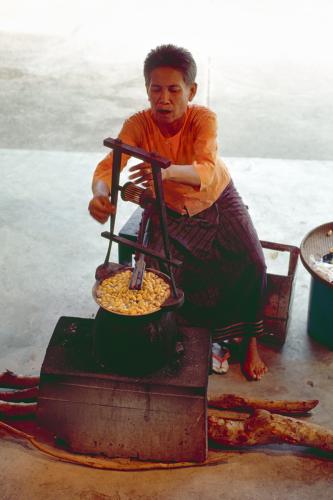 Silkworms, Bangkok, 1977 (large view)