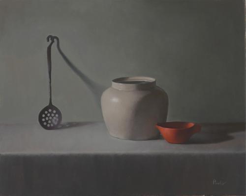 ORANGE PITCHER by Sandra Power