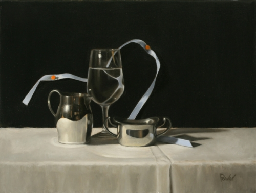 RIBBON WITH PITCHER by Sandra Power