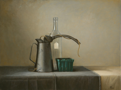 Oil Can with String by Sandra Power