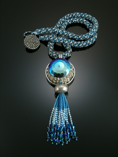 Blue Necklace by Alice Sprintzen Studio