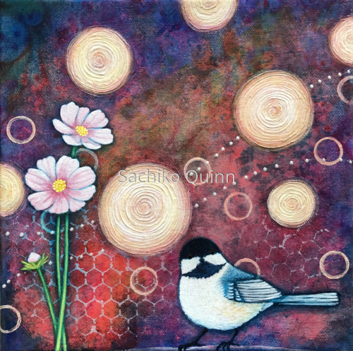 Cosmos and Chickadee