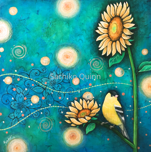 """Tomorrow"" ~American Goldfinch~"