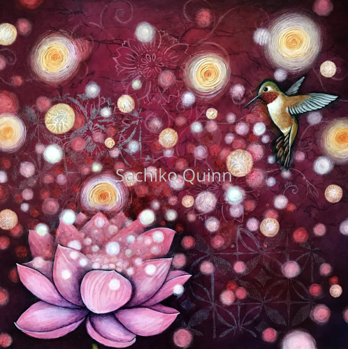 """""""Awakening"""" ~Rufous Hummingbird~"""