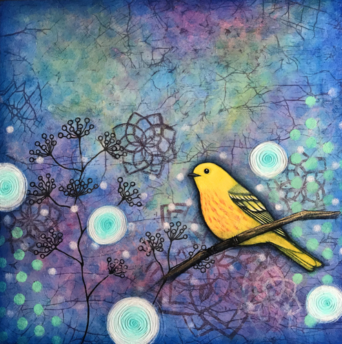 """Thinking of You""~Yellow Warbler~"