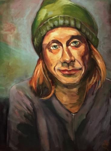 Tim in Green Hat