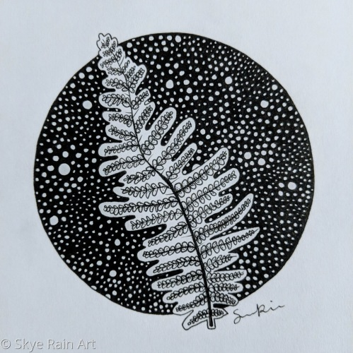 Fern in Circles