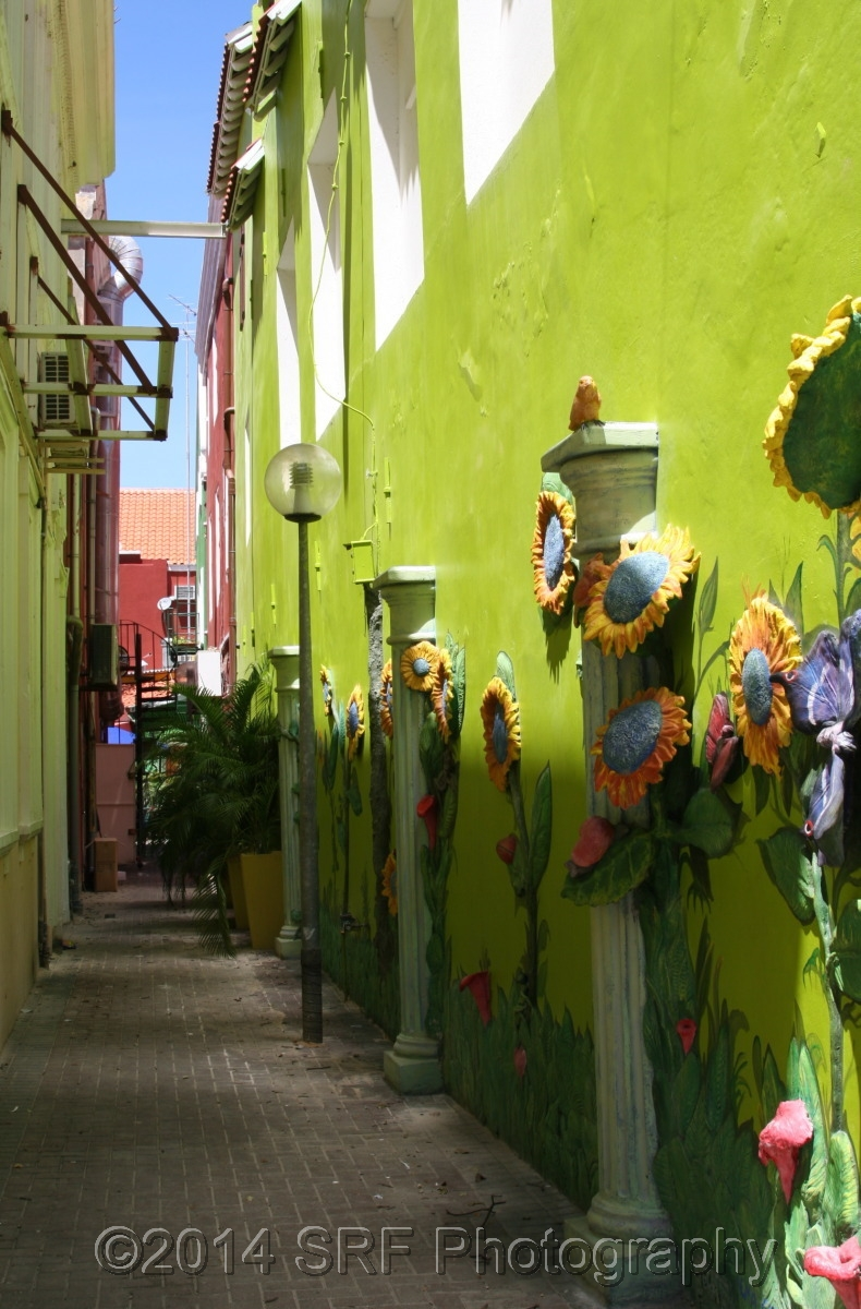 Willemstad Streets, Curaçao (large view)