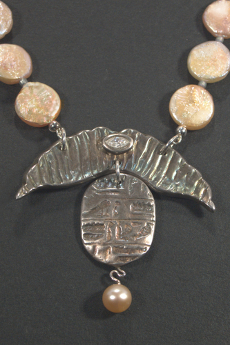 Scarab and Shield  by Suzanne Reuben Jewelry Design