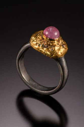 Pink Tourmaline Ring by Suzanne Reuben Jewelry Design