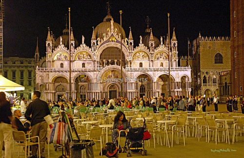 Basilica San Marco, Venice at Night