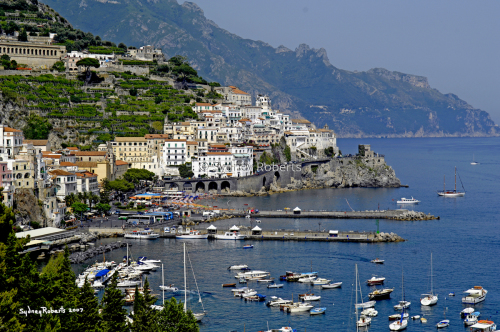 Afternoon In Amalfi