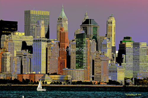 Manhattan Tramonto, New York City