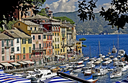 Summer in Portofino, Italy