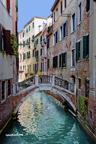 Pont de le Colonne, Venice, Italy