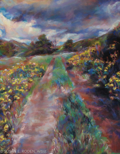 YELLOW PATH ALONG MIDDLE RANCH (large view)