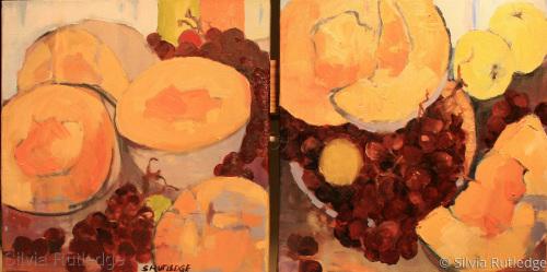 Cantaloupe Sister 1 by Silvia Rutledge
