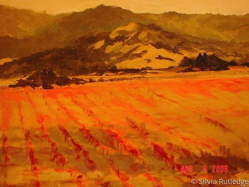 Autumn Vineyards II