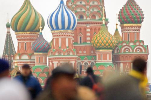 Heads vs. Domes, Red Square, Moscow