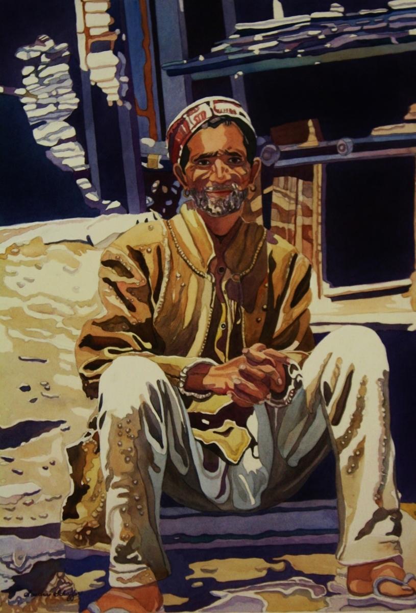 Nepali Man (large view)