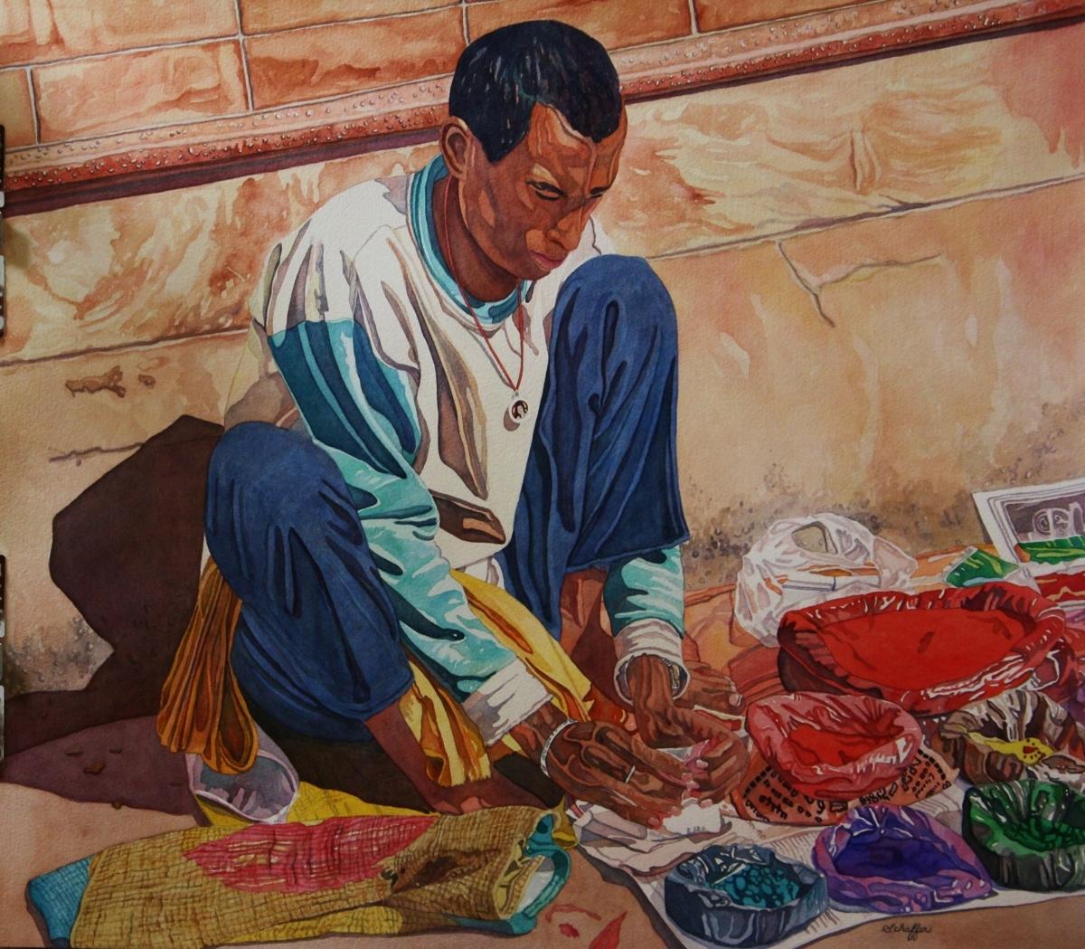 Dye Vendor (large view)