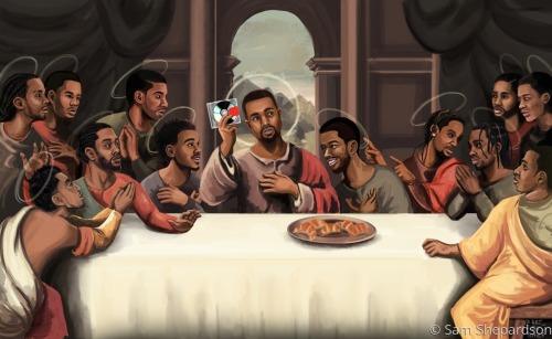 Yeezy's Last Supper