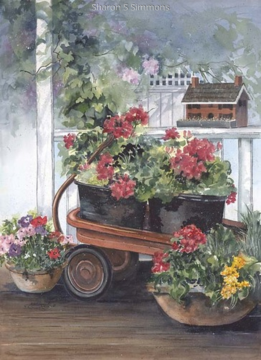 """Garden Wagon"" (large view)"