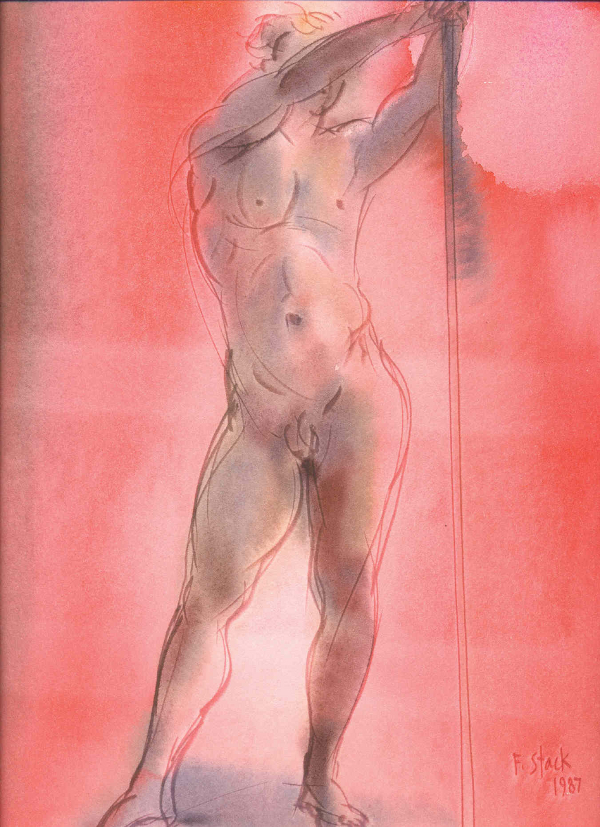 Standing Male Nude (large view)