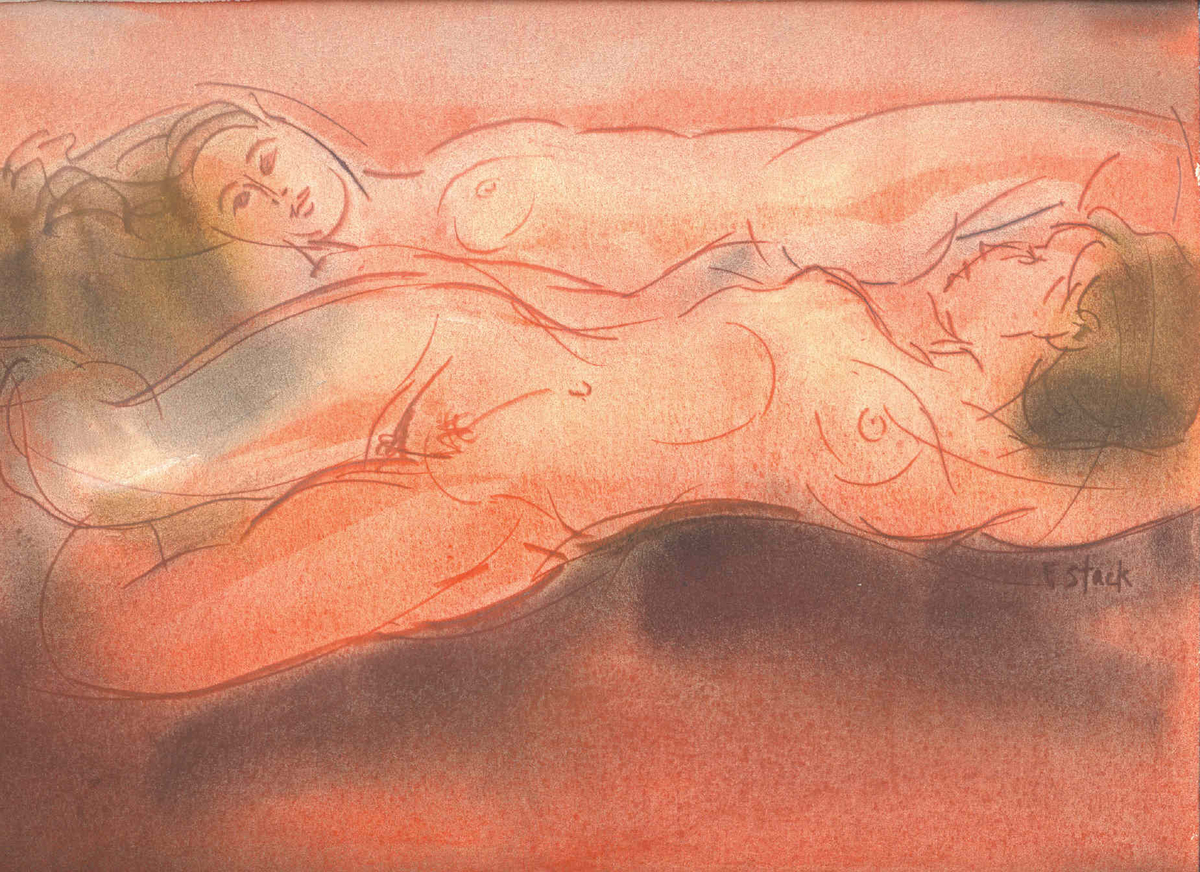 Two Female Nudes (large view)