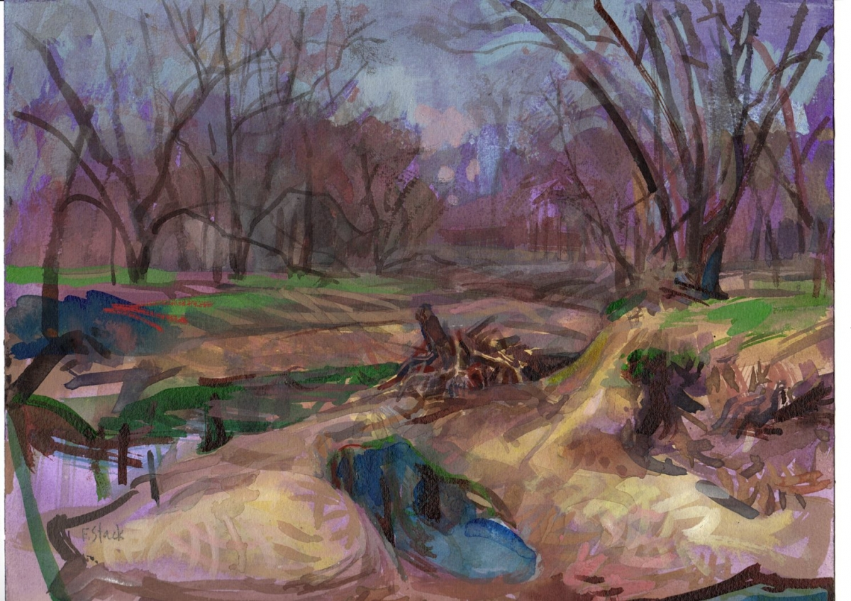 Winter Creek (large view)