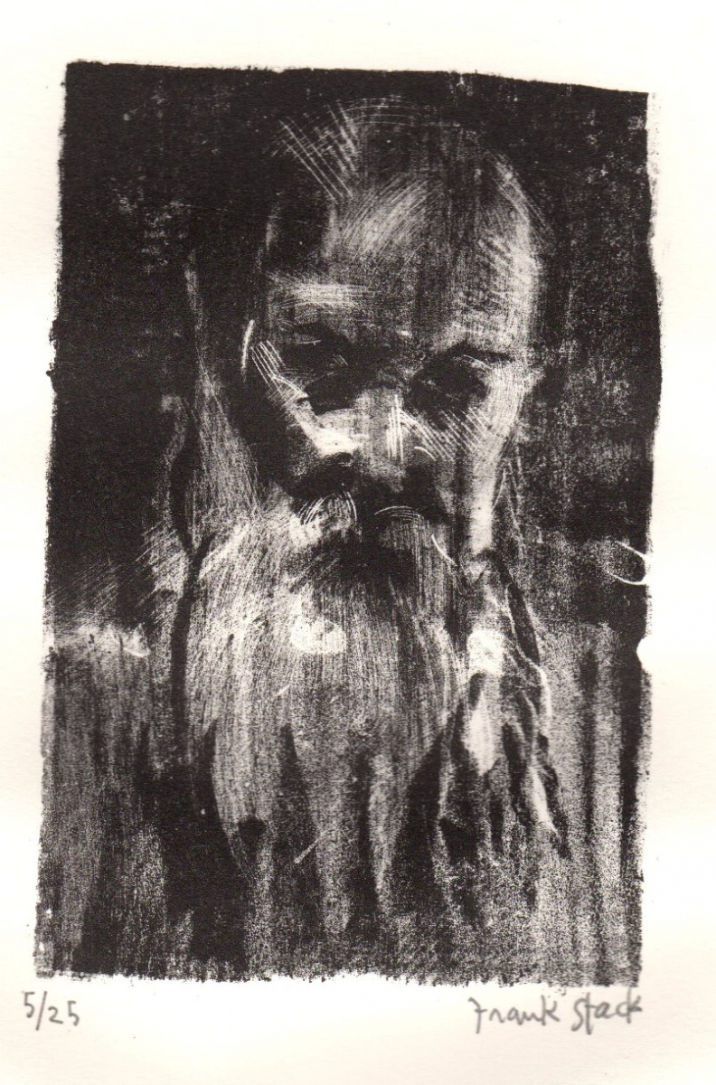 Untitled Lithograph, Old Man  (large view)