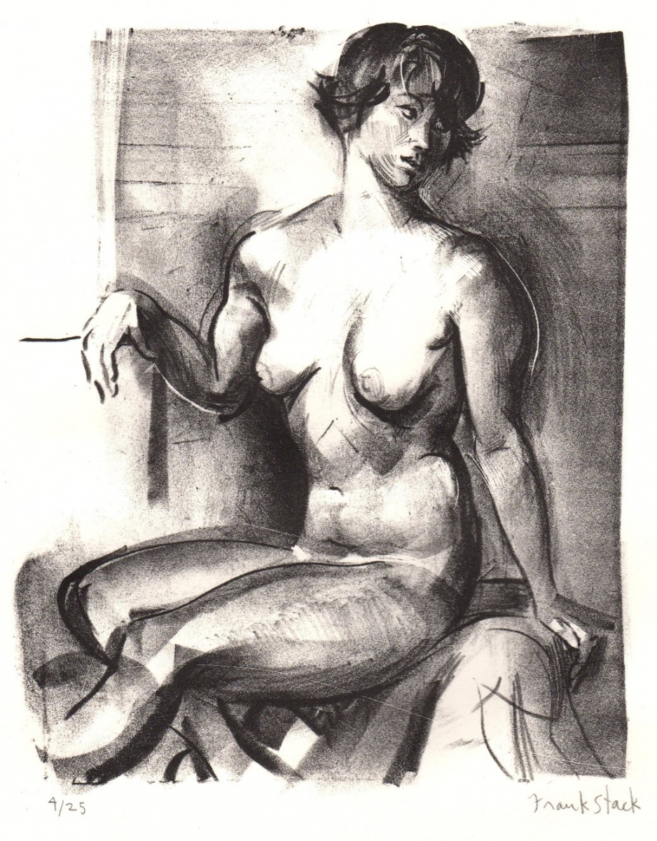Untitled Nude Lithograph (large view)
