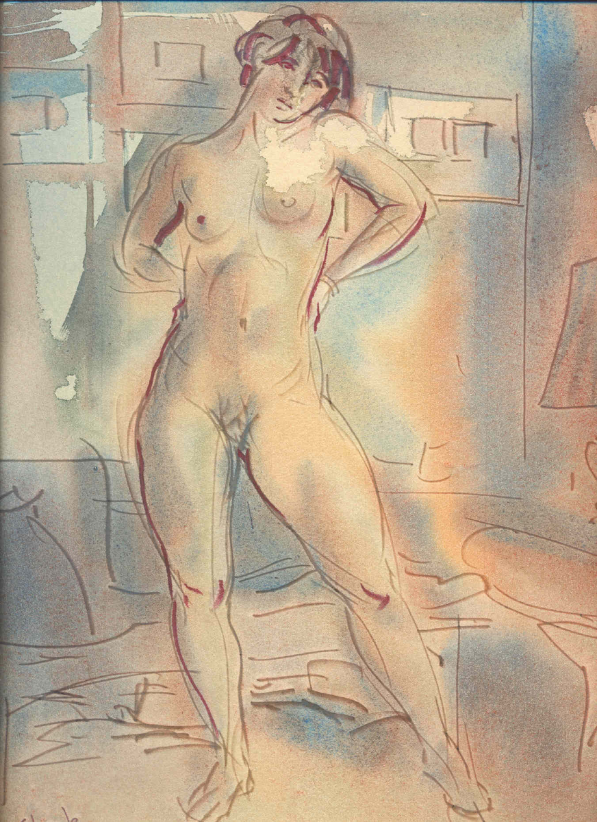 Standing Nude (large view)