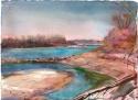 Missouri River in Winter