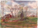 Farm in Early Spring