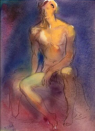 Male Night Nude (large view)