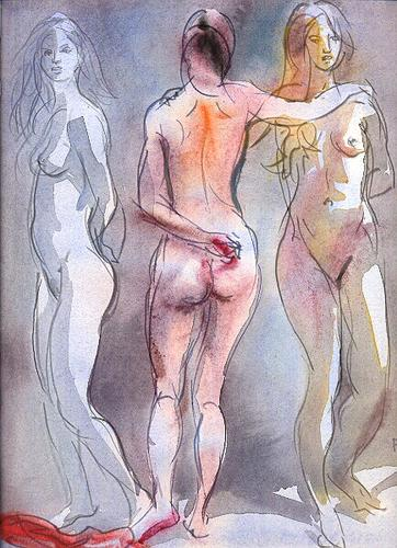 Three Nudes (The Graces) (large view)