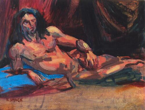 Oil Sketch - Male Nude