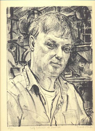 Self-Portrait at Mourlot