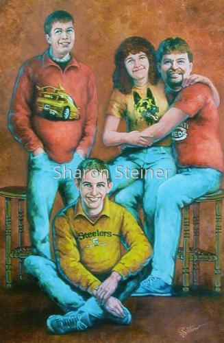 John Wash Family