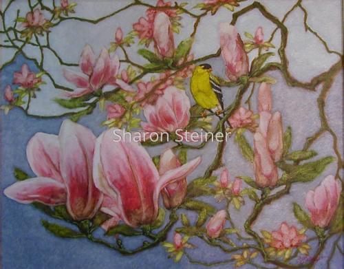 Magnolia Goldfinch