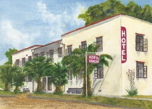 Hotel Venezia, Venice Florida 1930