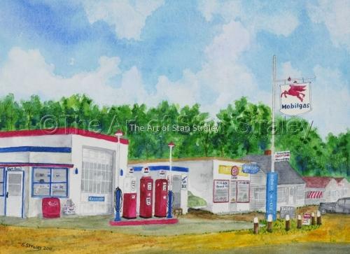 Herb Ross's Mobil Station