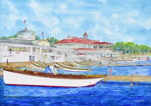 The Blue Line Docks