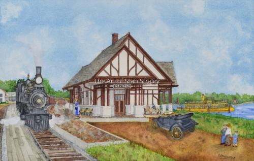 Wayzata Depot 1913