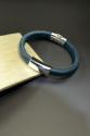 Shelia Logan Designs, Leather, bracelet, jewelry, men, handmade, United States, Upper Marlboro Maryland (thumbnail)